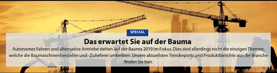 Teaserkachel Special Bauma