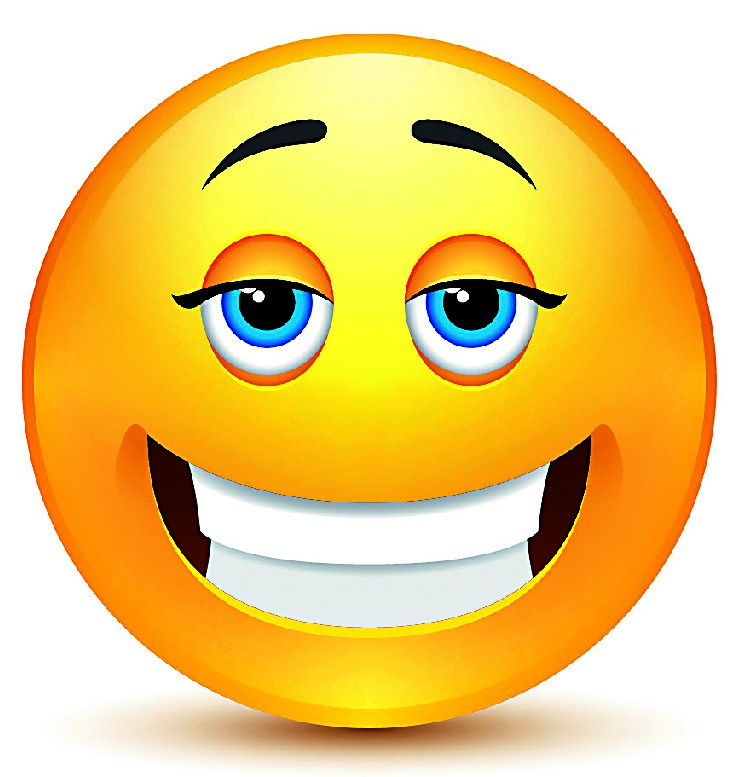 entspannt smiley