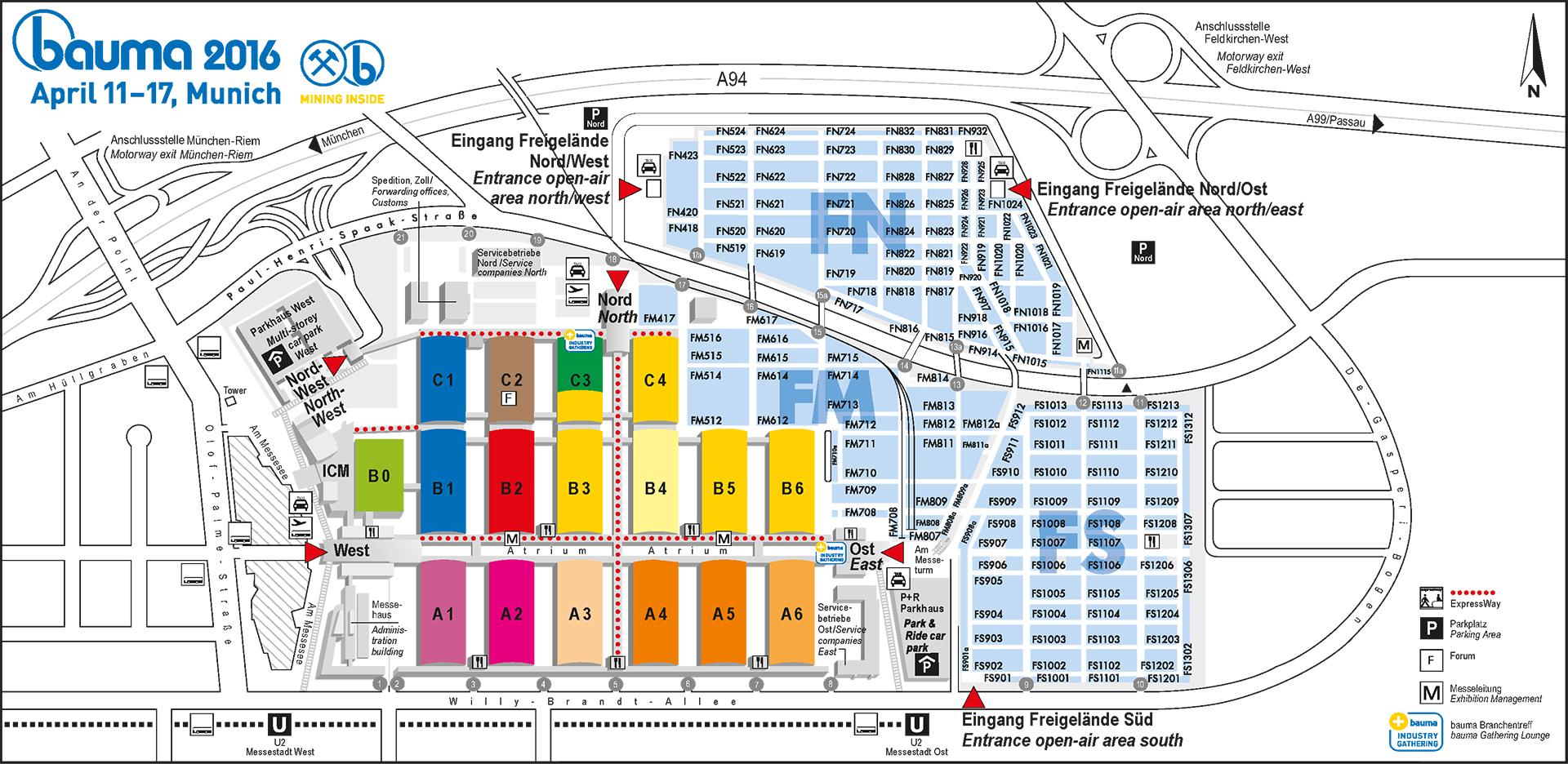 Balmoral Floor Plan Bauma In Sicht Die Gro 223 E Baumaschinenmesse Im 220 Berblick