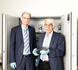Dr. Horst Bettin und Prof. Manfred Peters