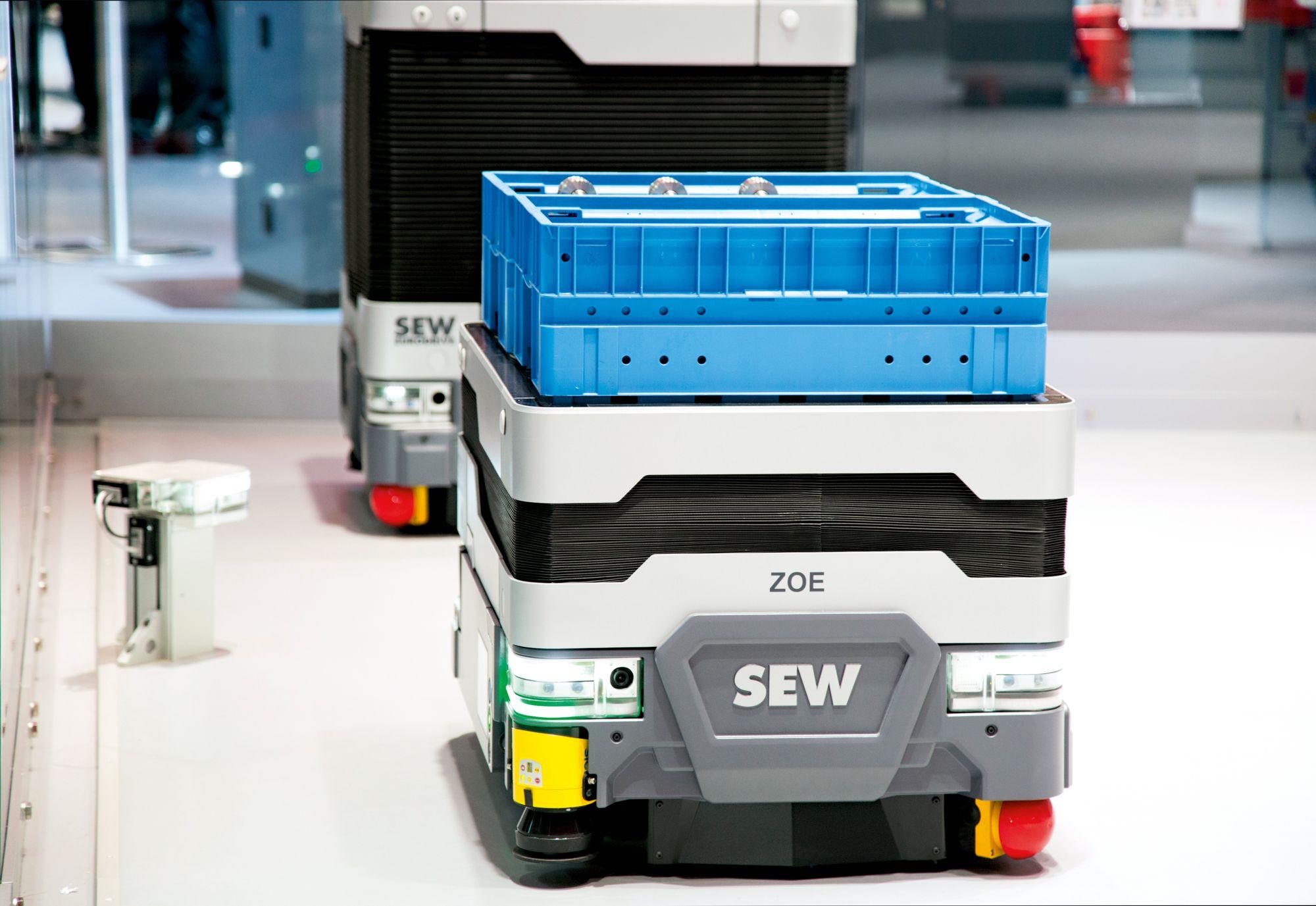 Automatisierungsbaukasten Movi-C für die Rotorbestückung