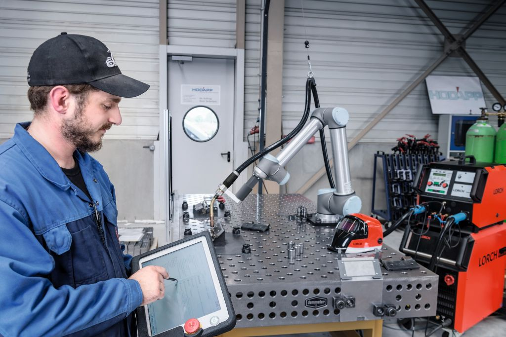 Lorch Cobot Welding Package - Bild: Lorch